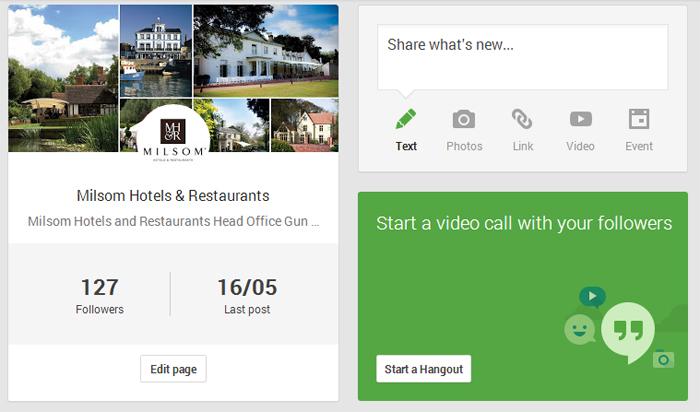 Hotel social media marketing