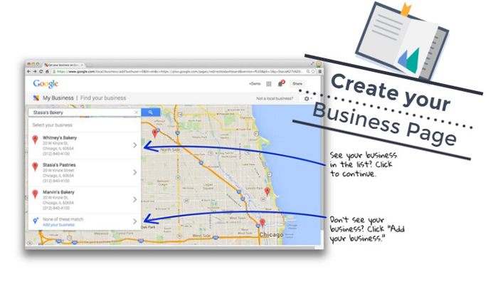 Create your Google Business Page