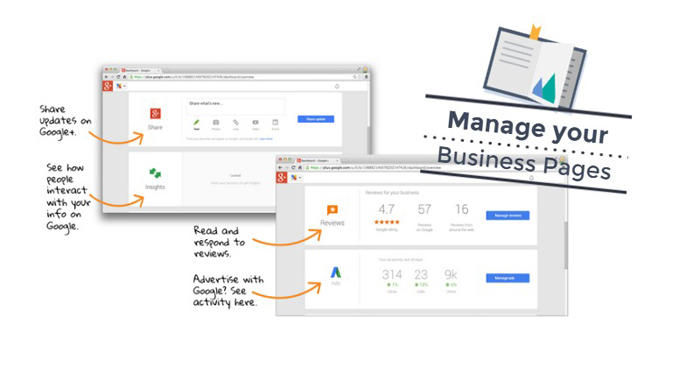 Manage your Google Business Page