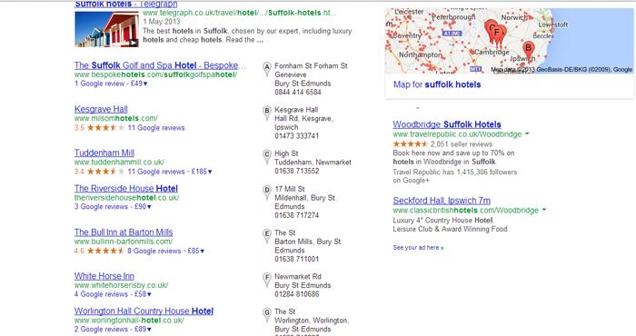 Suffolk Hotels