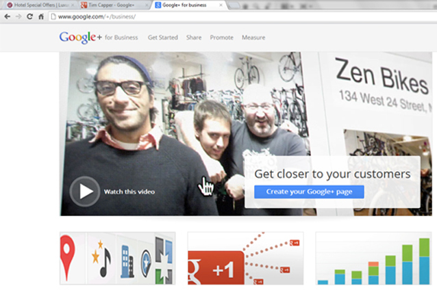 Create Google+ Business Page