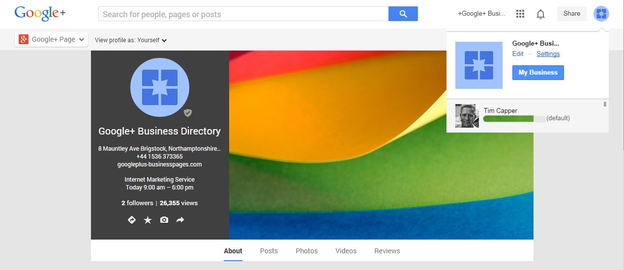 Multiple Google+ Pages Delete