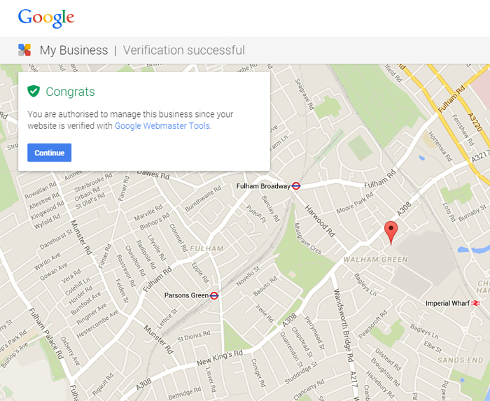Google Local Business Select WMT