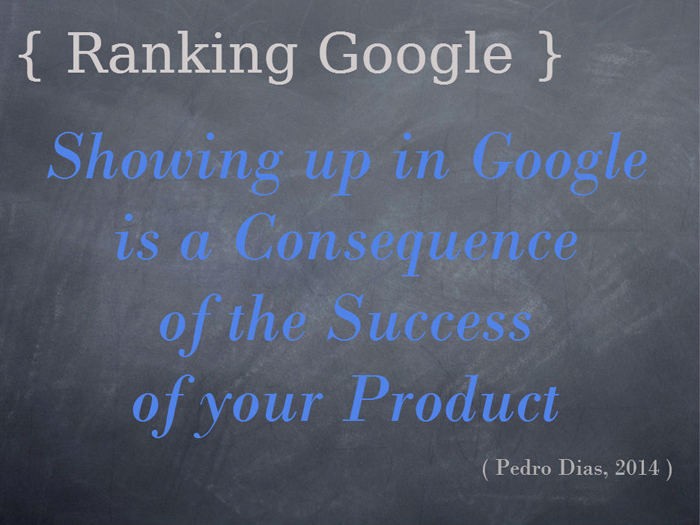 Google Ranking SEO 2014