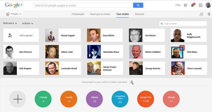 engaging on google plus