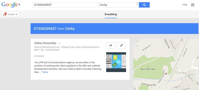 Local citation resource - google local