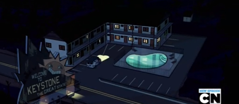Steven Universe the Keystone Motel Episode