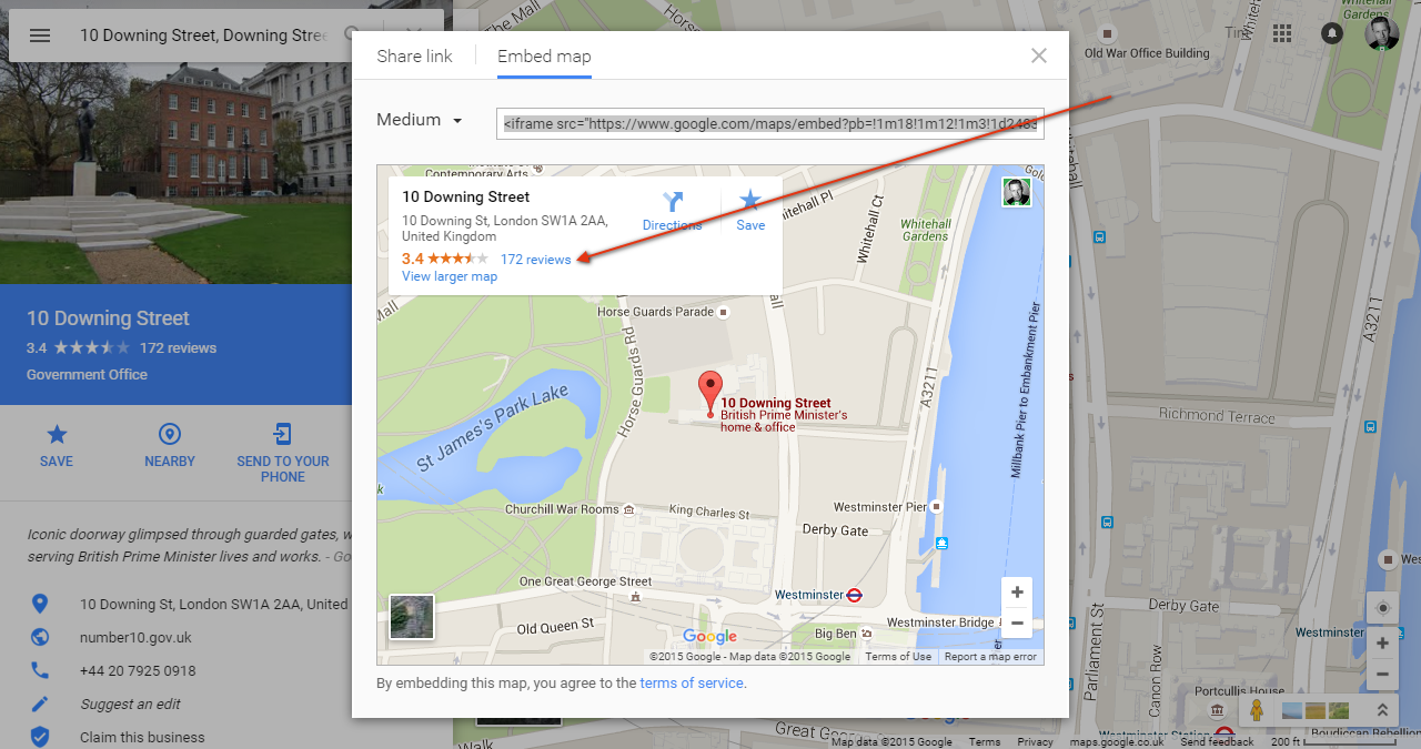 Embedded Maps Bug with Reviews