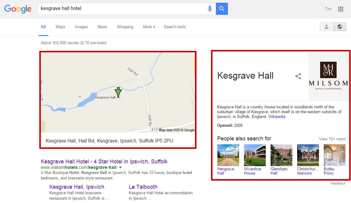 Knowledge Graph Removes Knowledge Panel