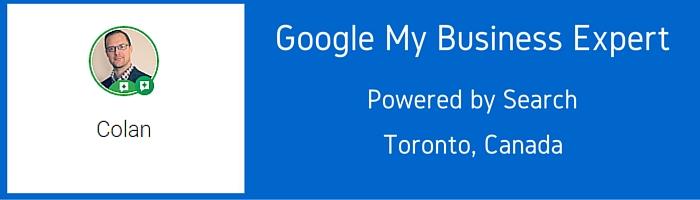 Google MY Business Expert - Colan Nielsen (1)