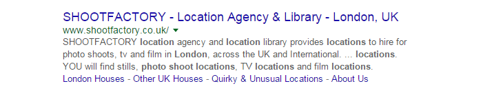 Local SEO - Position 1 Organically