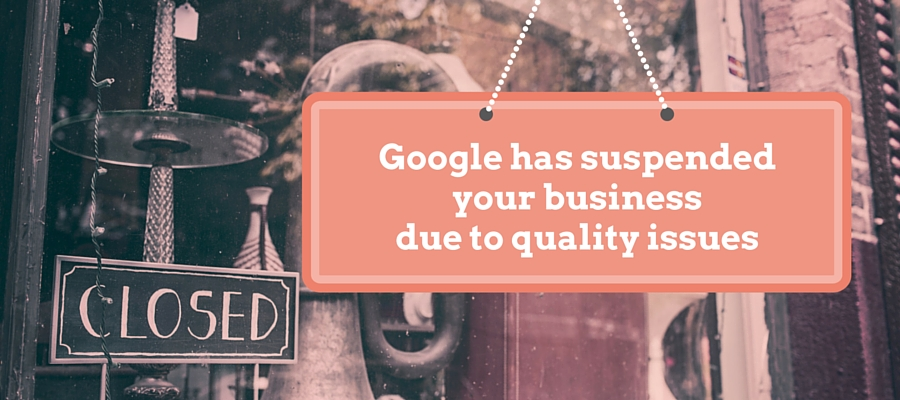 Locksmith Google business page suspended