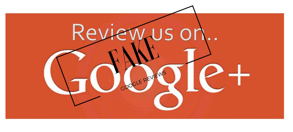Fake Business Reviews on Google