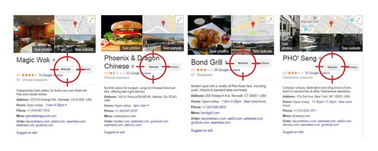 Hijacked Restaurant Listings in Google My Business
