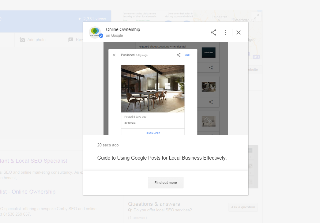 Guide to using Google Posts for local Business Effectively - Online Ownership
