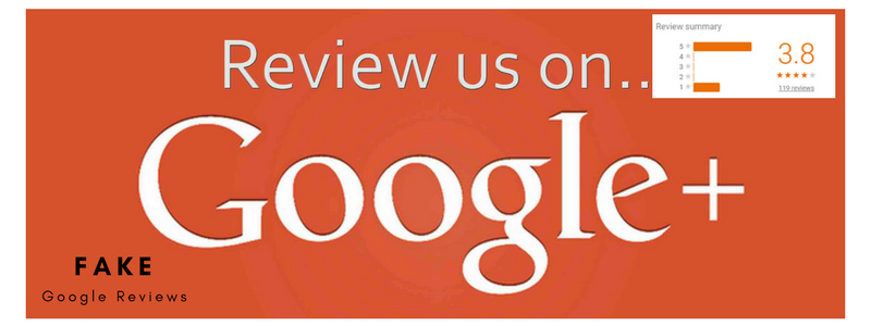 Fake Google Reviews - Online Ownership