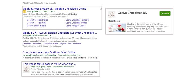 google+ branding