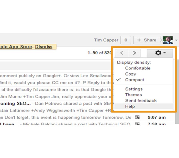 Report Gmail Spam in Gmail