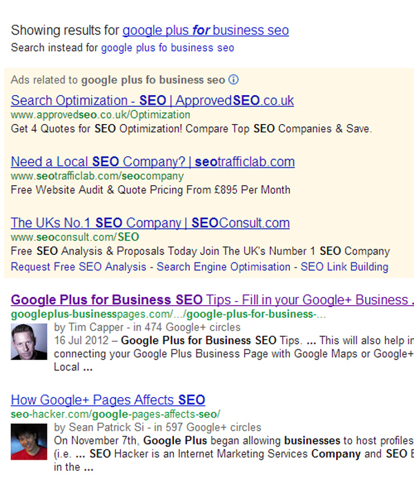 Google Showing Extra Links In Search Results Attached To Authorship