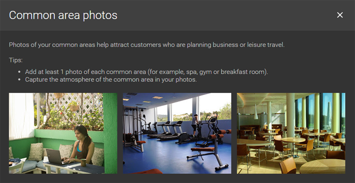 Google Business Pages - Common Area Photos
