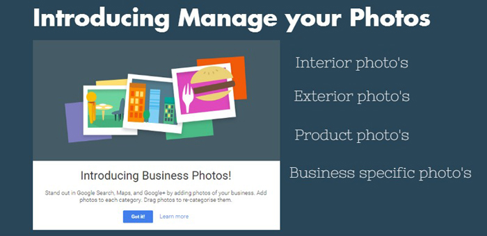 Google Business Pages - Manage Photos