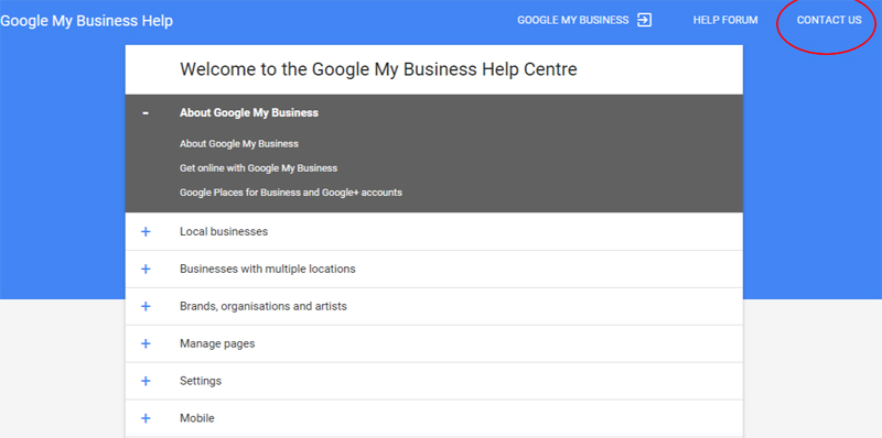 Report Duplicate Google Business Pages