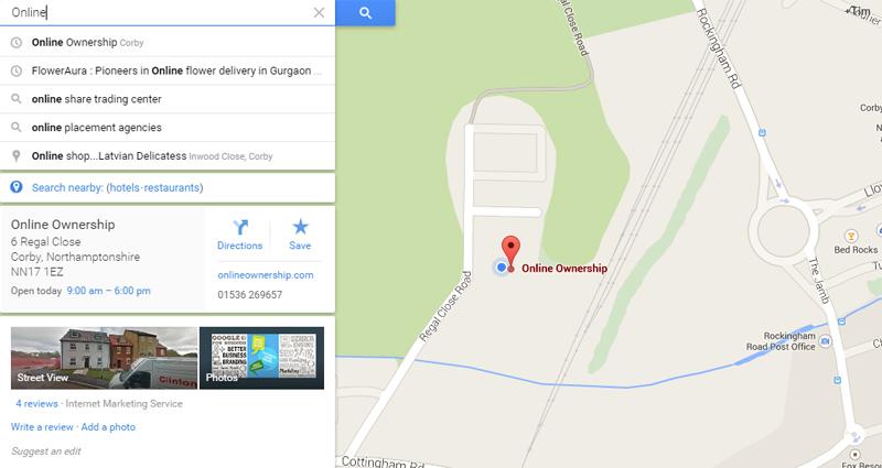 Local citation resource - google maps