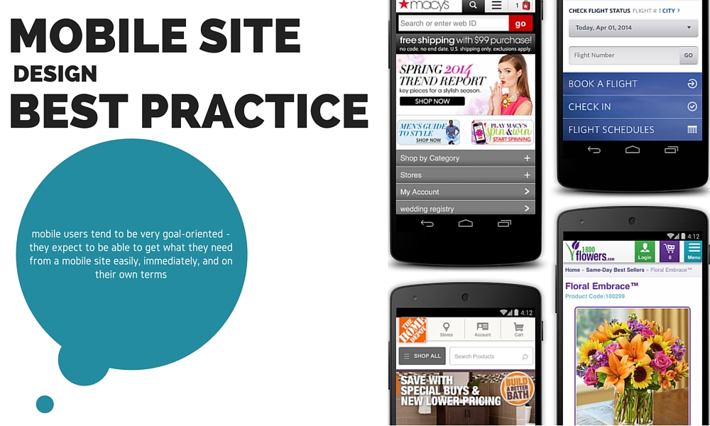 Mobile Site Design Best Practice