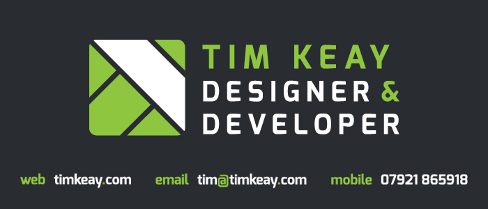 Tim Keay Web Designer and Web Developer Northampton