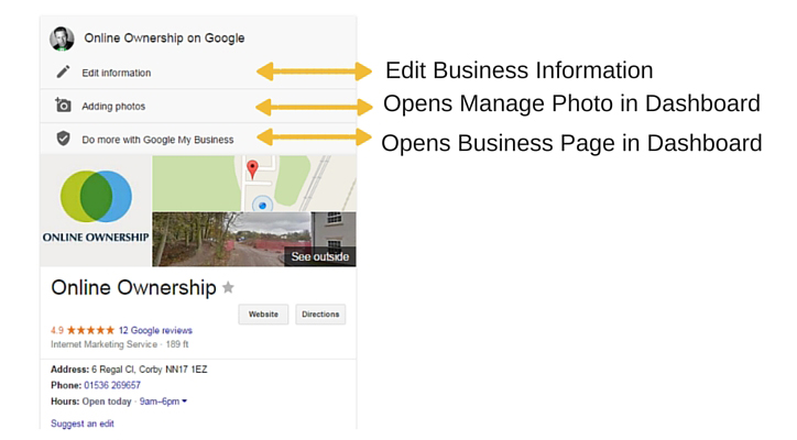 New Knowledge Panel Edit for Business Pages