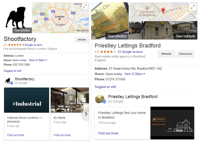 Google Posts Live in Search and Maps - Desktop - Online Ownership