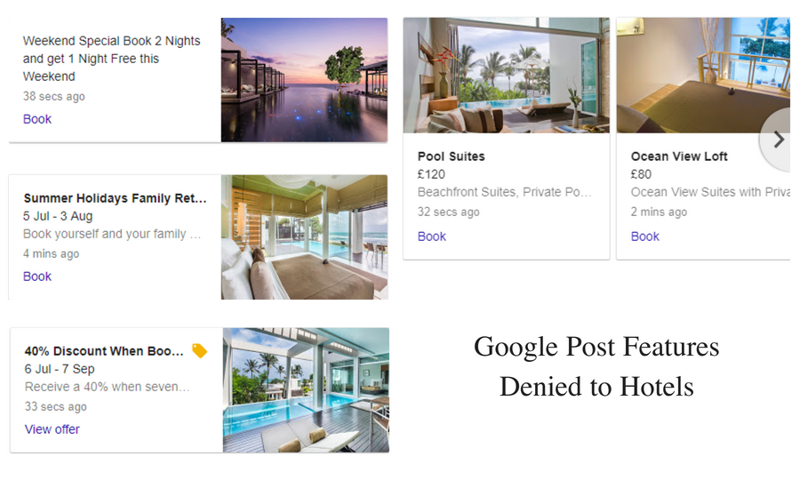 Google Post Features Denied to Hotels - Online Ownership