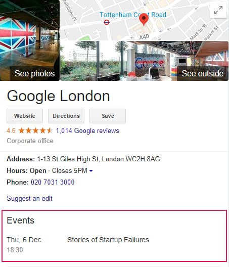 Google Spams themselves with Non Event in London - Online Ownership