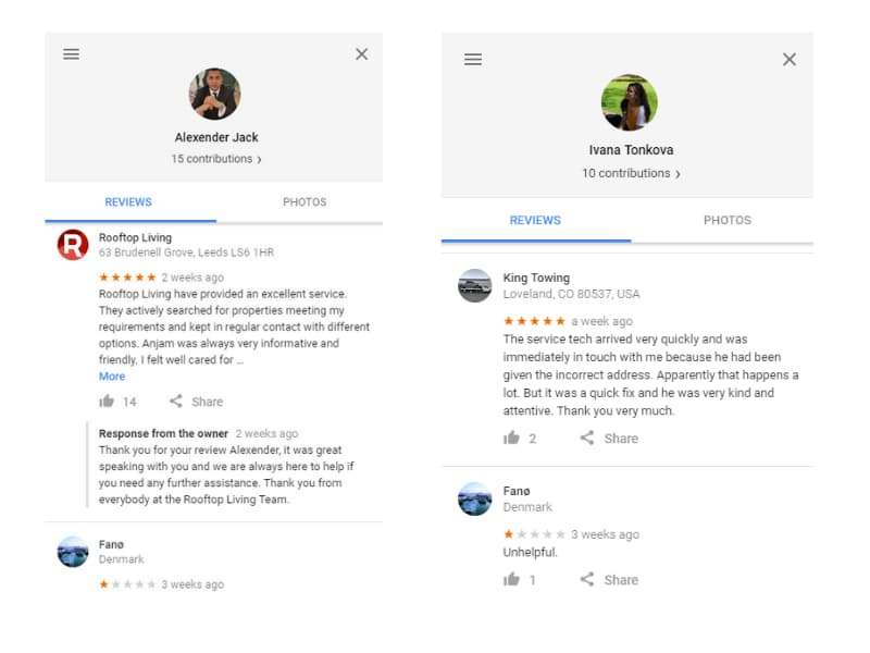 Fake Negative Reviews for the Island of Fanø - Online Ownership