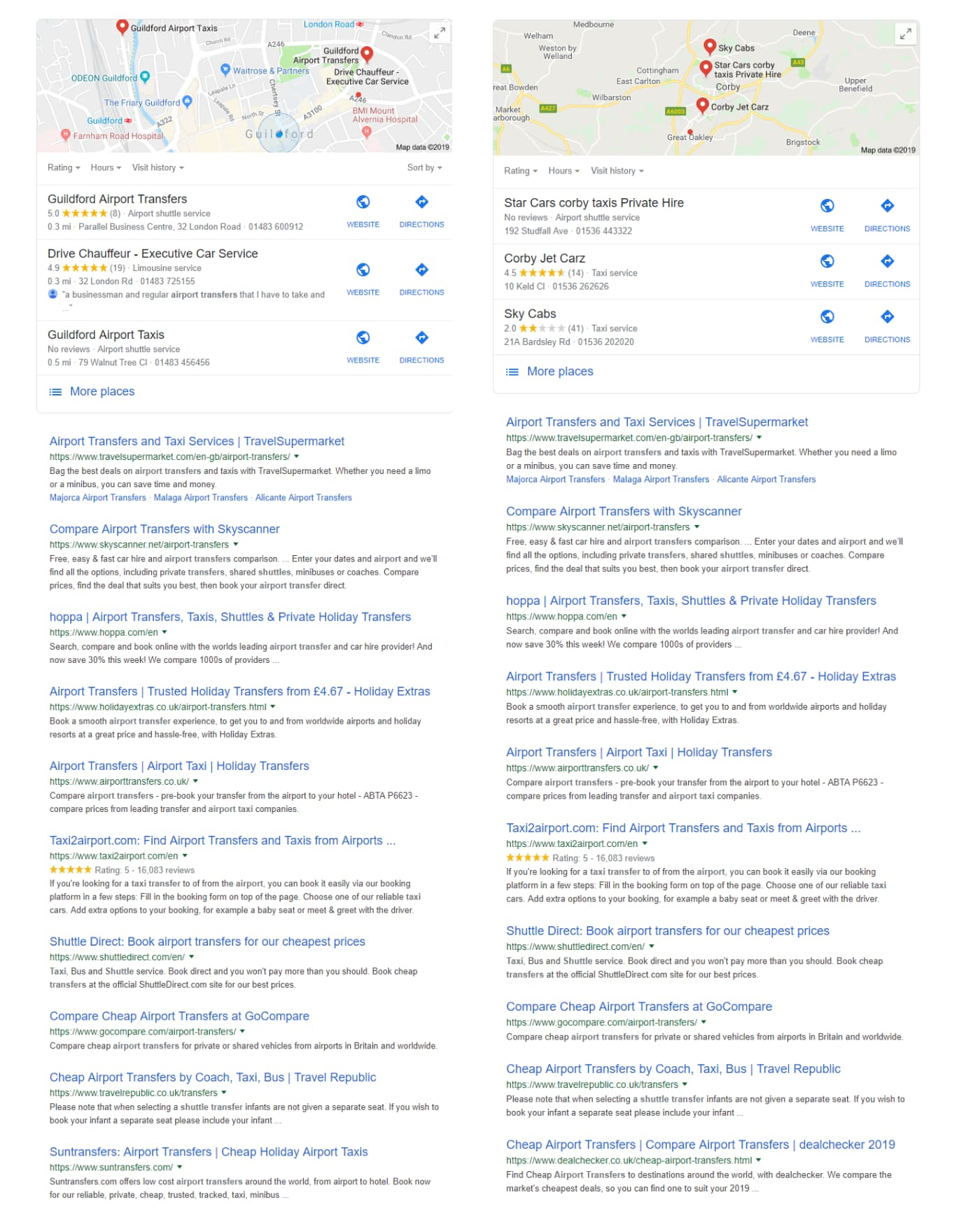 Same Search Results Regardless of Location - Online Ownership