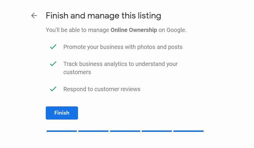 Manage Your Listing - Create Google My Business Page - Online Ownership