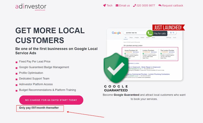 3rd Party Local Service Ad Providers - AdInvestor - Online Ownership