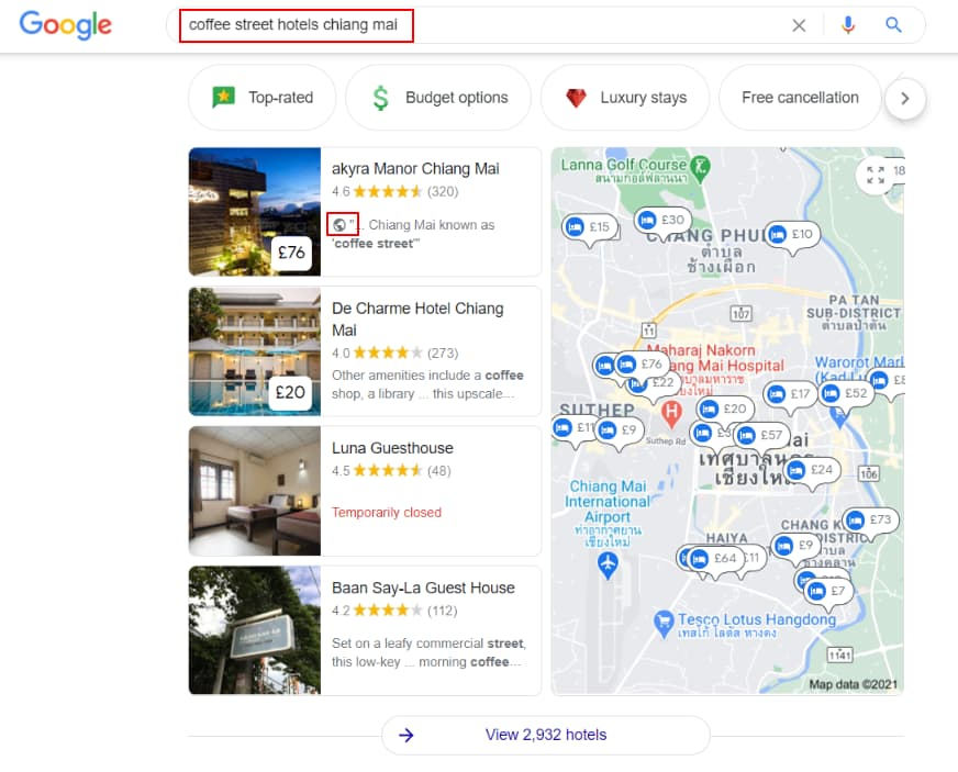 Hotel Pack - Website Mention Snippets - Online Ownership