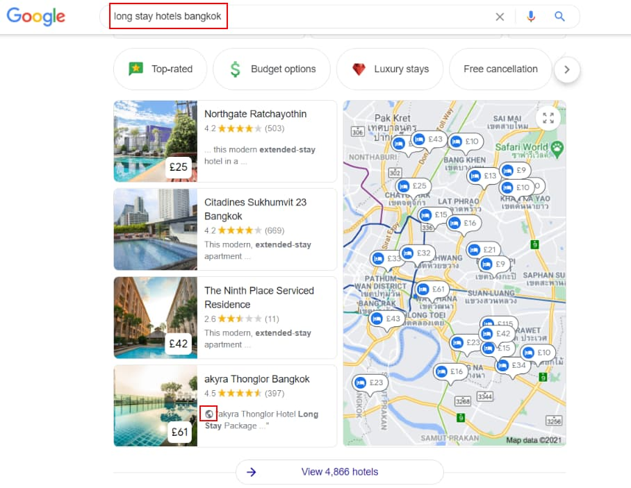 Hotel Pack - Website Mentions - Online Ownership